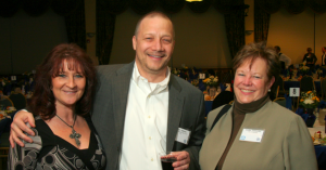 Annette and Rich Gilman of Affleck Gilman Ross & Co., Linda Cassaday of the City of Glendale