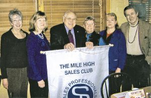 Members of the Mile High Sales Club