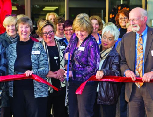 Glendale Chamber At Ribbon-Cutting Celebration
