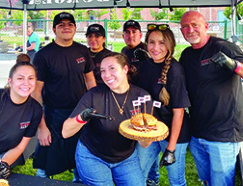 Illegal Burger Competes In 10th Annual Burger Battle